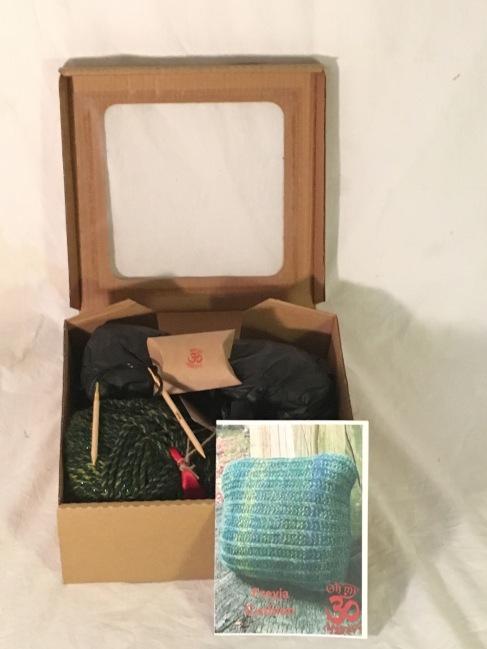 cushion box open