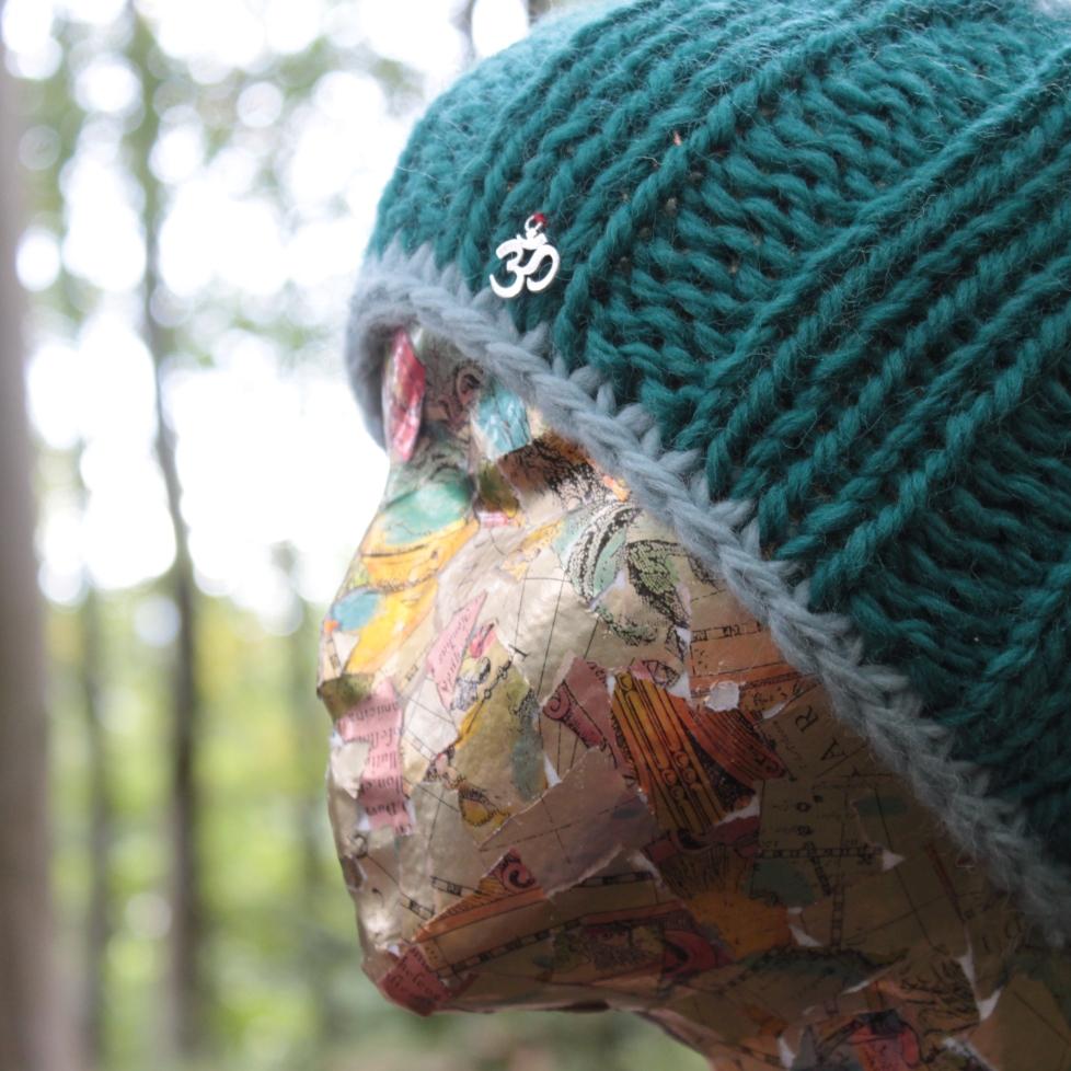 green maxi headband
