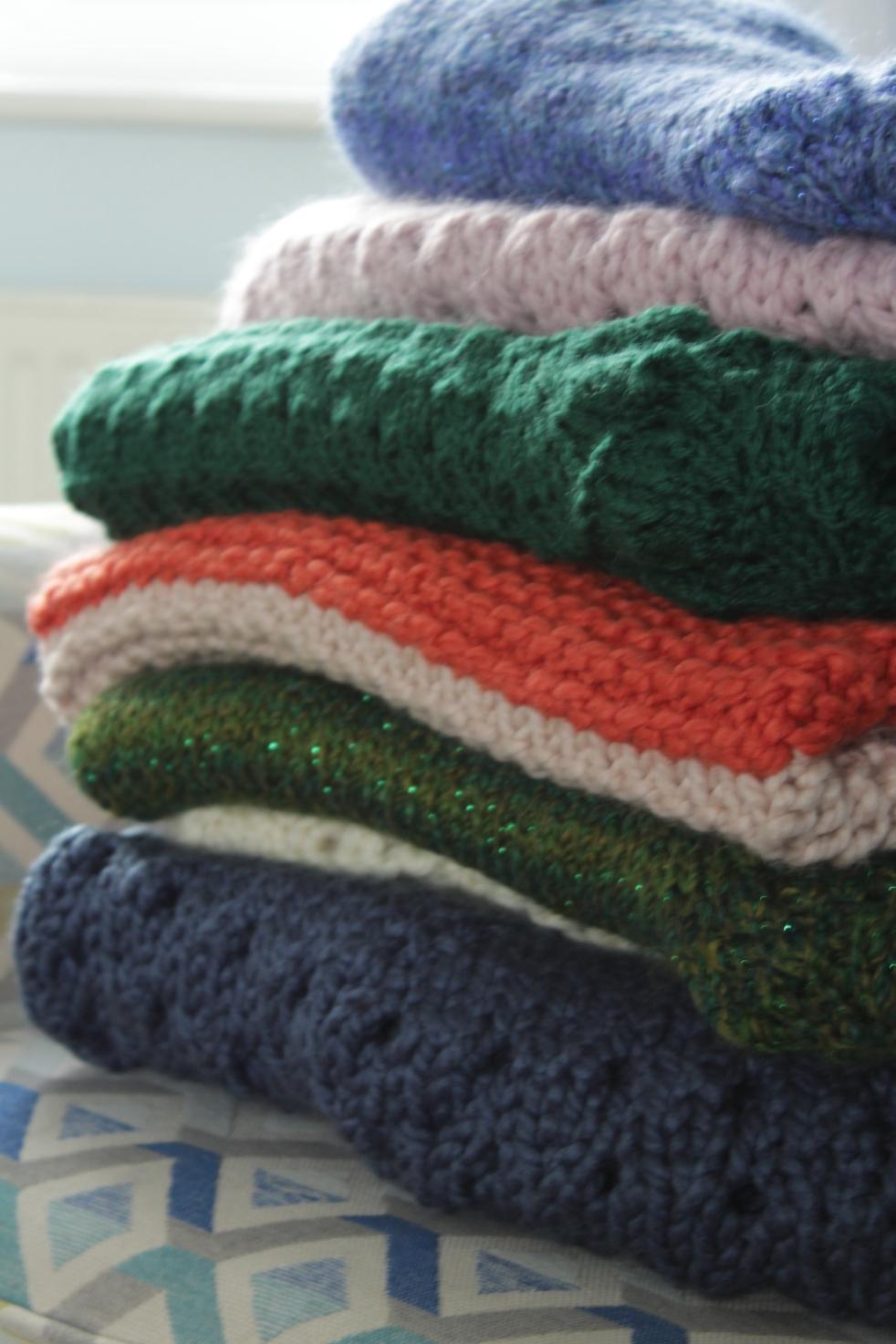 knitting pile1